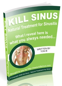 Kil Sinus 1 Top 3 E books to Treat Sinusitis